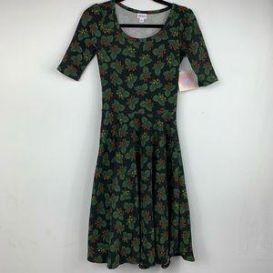 LULAROE NICOLE holiday dress